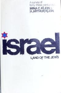 Cover of: Israel: land of the Jews | Mina C. Klein