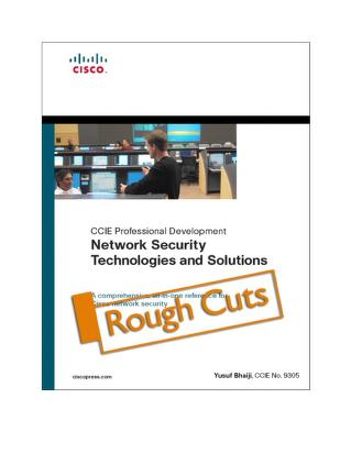 Network security technologies and solutions by Fahim Hussain Yusuf Bhaiji